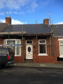 Bungalow, Roof Repair in Sunderland, Tyne and Wear